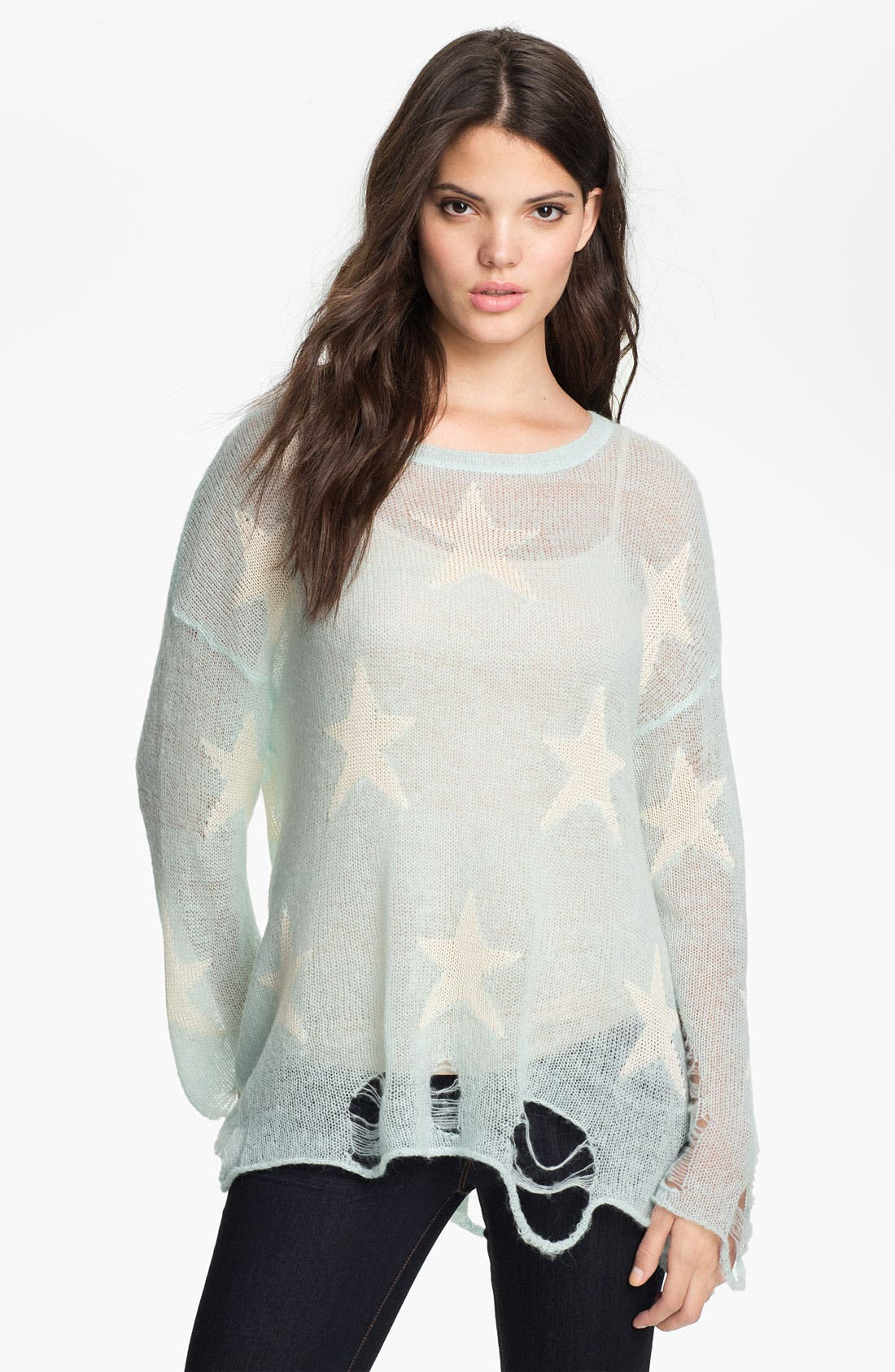 Alternate Image 1 Selected - Wildfox 'Seeing Stars' Sweater