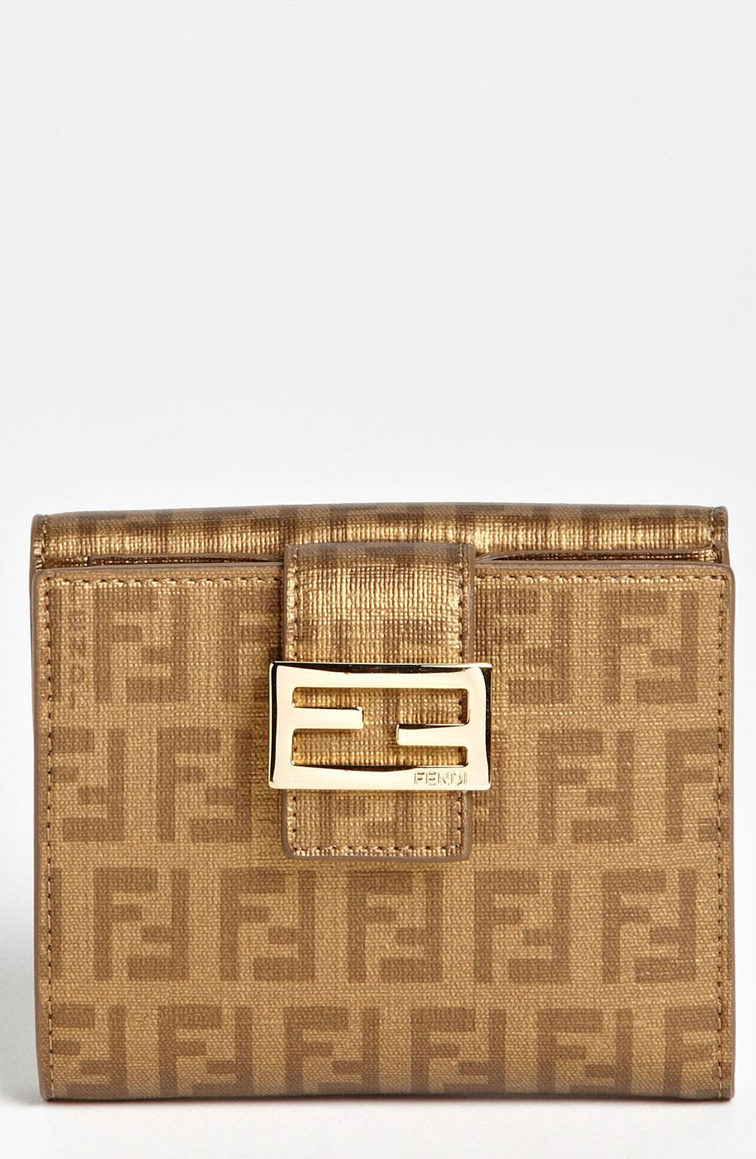 Alternate Image 1 Selected - Fendi 'Forever' French Wallet