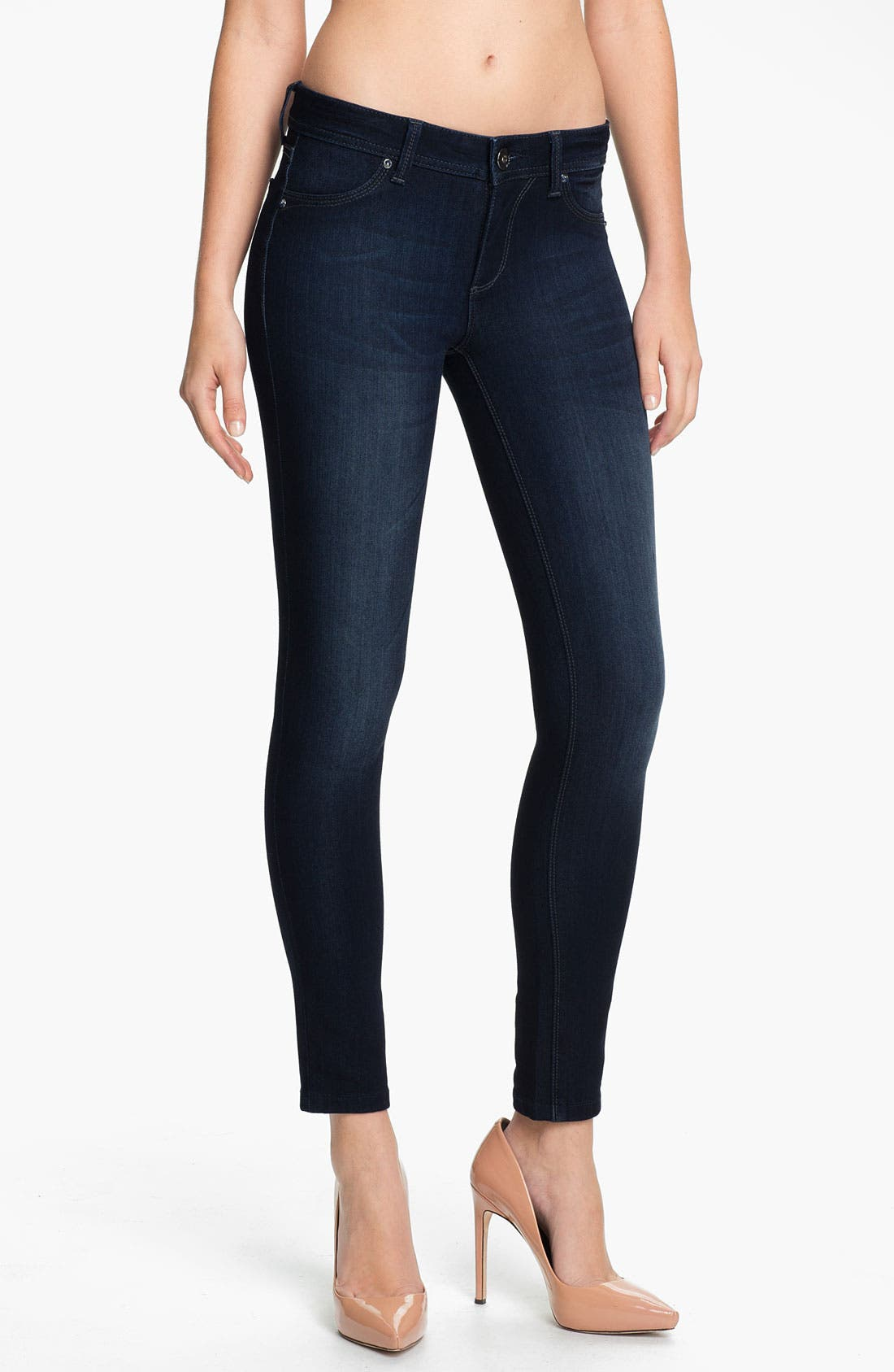 Alternate Image 1 Selected - DL1961 'Emma' Power Legging Jeans (Bloom)