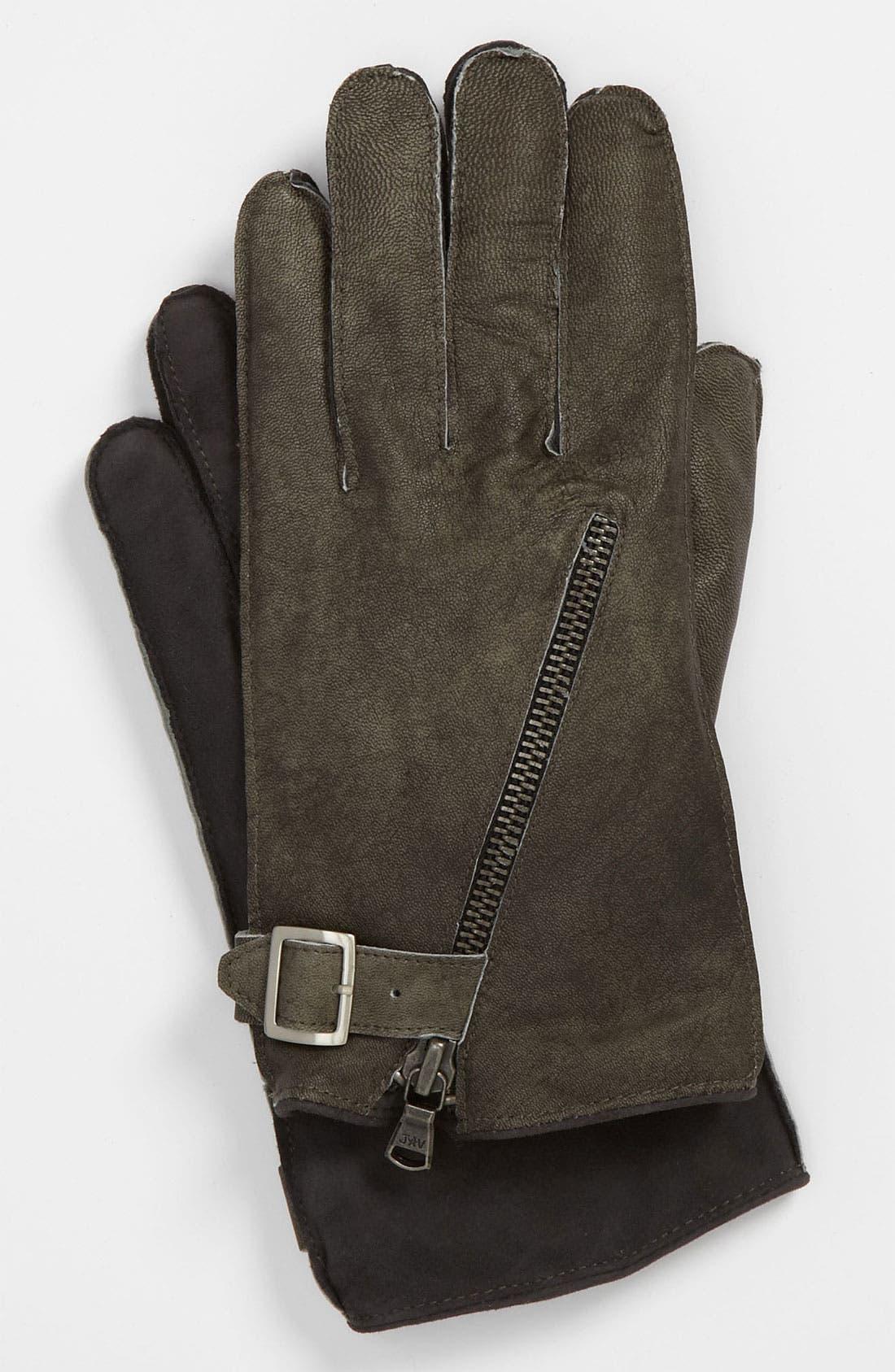 Alternate Image 1 Selected - John Varvatos Star USA Leather Gloves