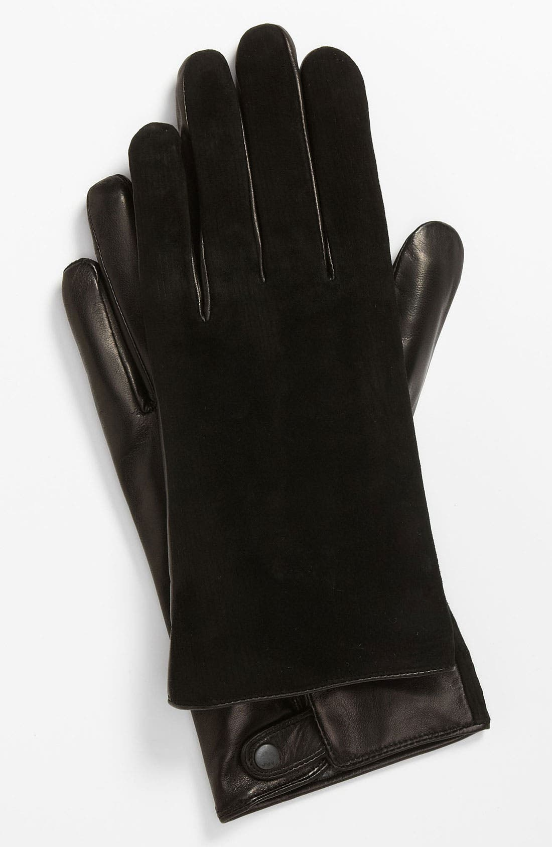 Main Image - John Varvatos Star USA Leather Gloves
