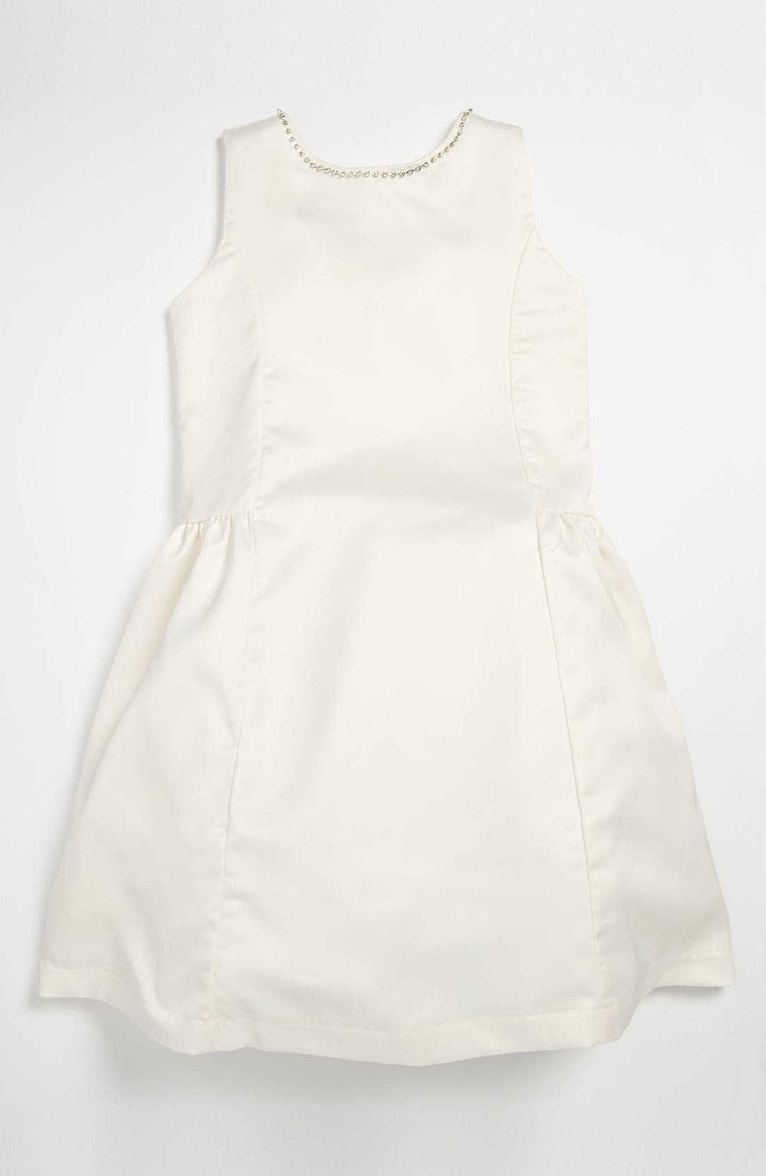 Main Image - La Piccola Danza Kidswear Bow Back Dress (Little Girls & Big Girls)