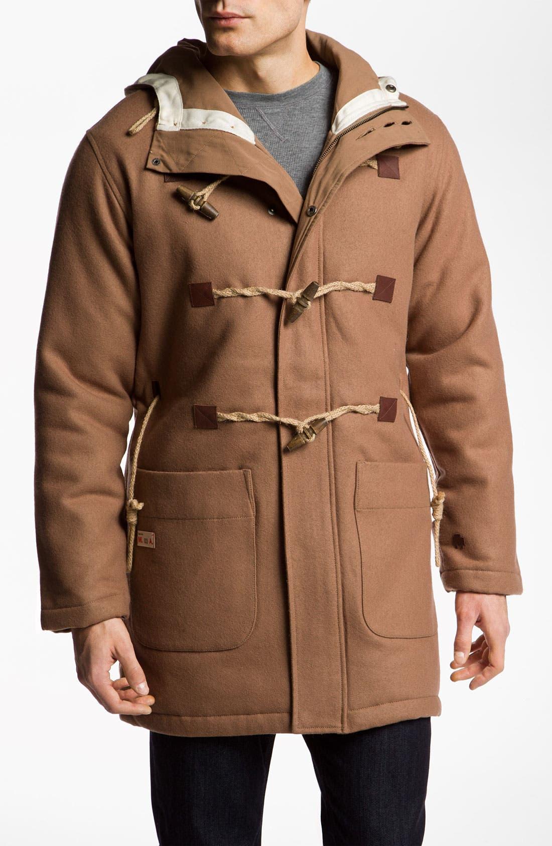 Main Image - Marshall Artist Wool Blend Duffle Coat