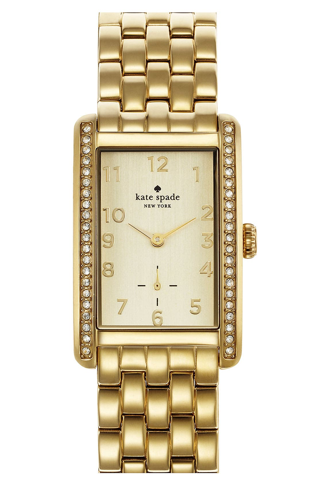 Alternate Image 1 Selected - kate spade new york 'cooper grand' bracelet watch, 25mm