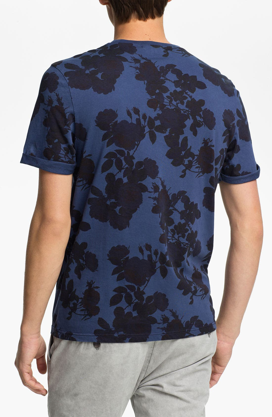 Alternate Image 2  - Topman 'High Roller' Allover Floral Print T-Shirt