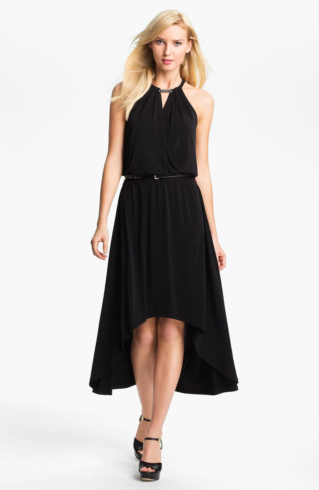 Alternate Image 1 Selected - MICHAEL Michael Kors Elliptical Hem Dress