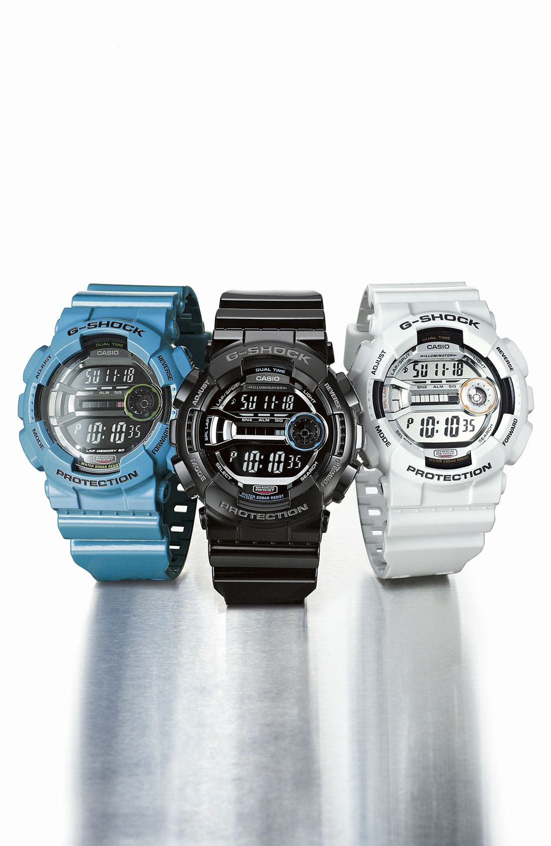 Alternate Image 2  - G-Shock 'X-Large' Digital Watch, 55mm x 51mm