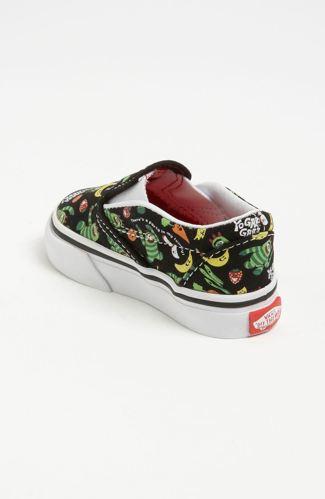 Alternate Image 2  - Vans 'Classic - Yo Gabba Gabba!™' Slip-On Sneaker (Baby, Walker & Toddler)