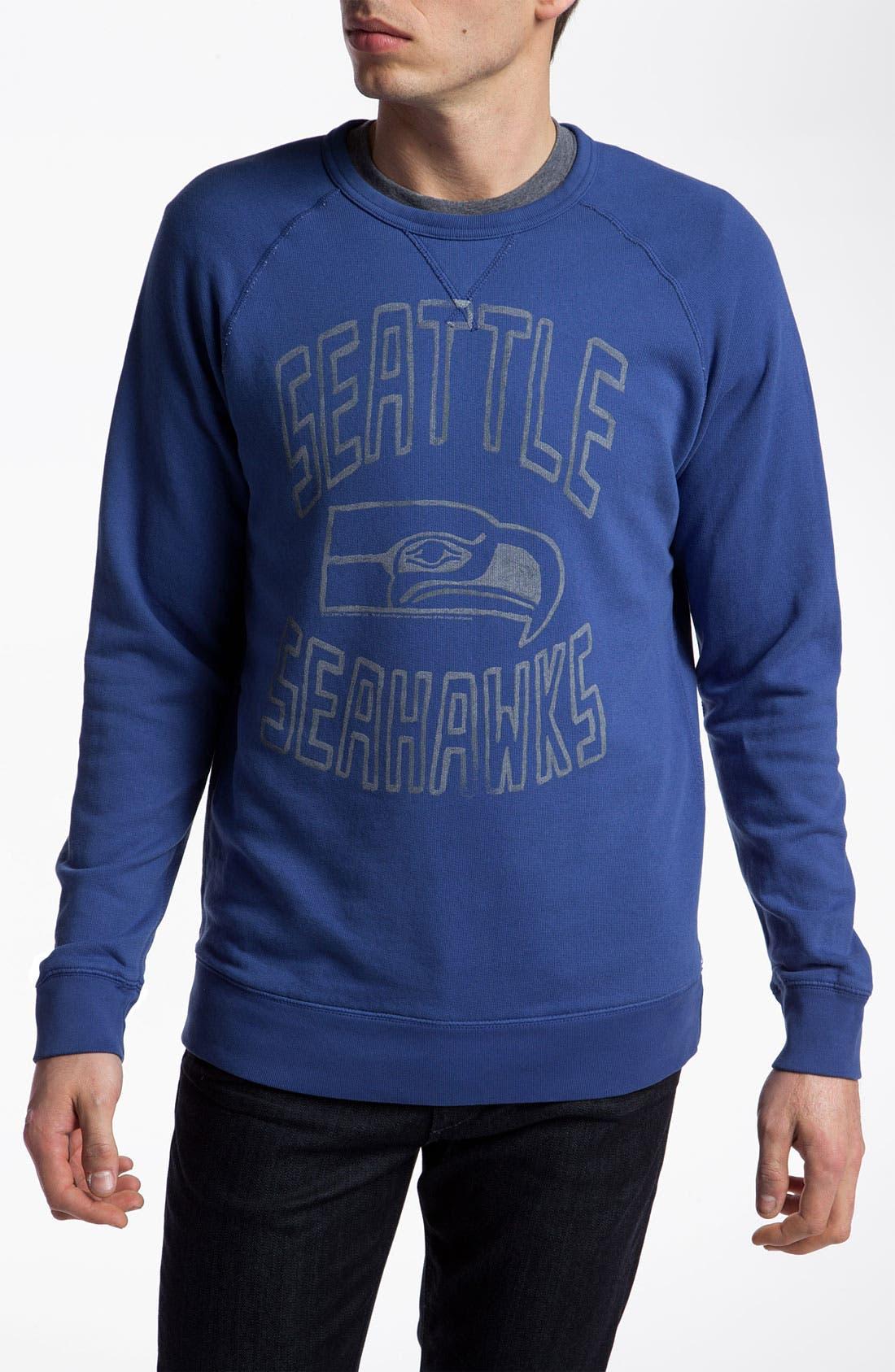 Alternate Image 1 Selected - Junk Food 'Seattle Seahawks' Sweatshirt