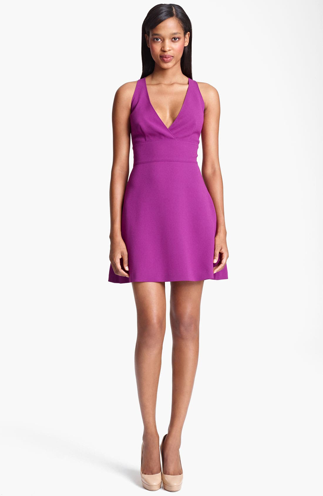 Alternate Image 1 Selected - Moschino Cheap & Chic Sleeveless Crepe Dress