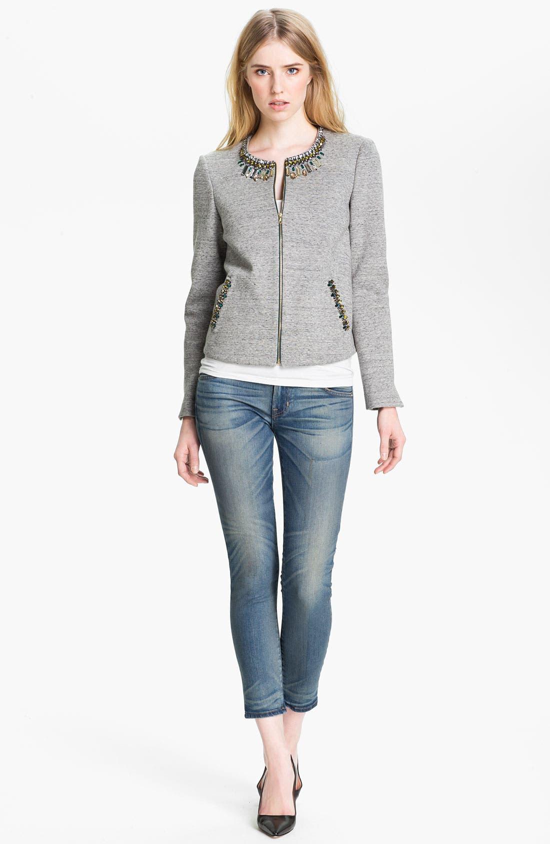 Alternate Image 1 Selected - Elizabeth and James Jacket & TEXTILE Jeans
