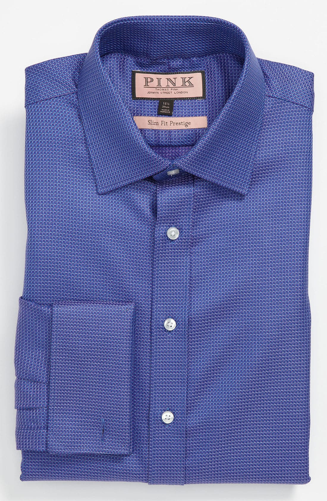 Main Image - Thomas Pink Slim Fit Prestige Dress Shirt