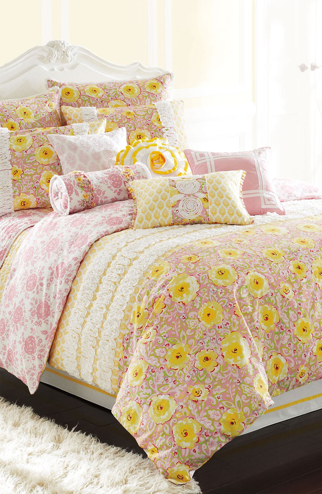 Alternate Image 2  - Dena Home 'Annabelle' Bed Skirt