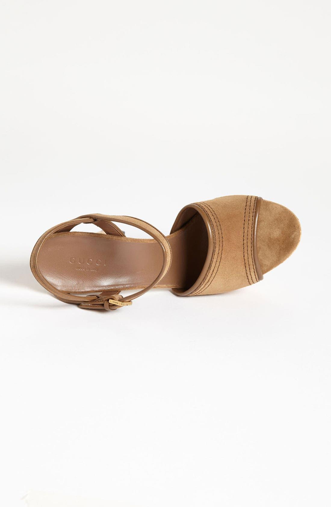 Alternate Image 3  - Gucci 'Danielle' Platform Sandal