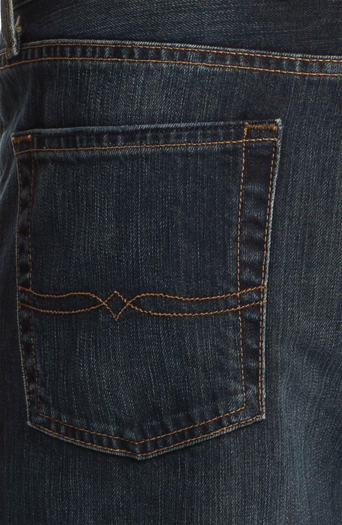 Alternate Image 4  - Lucky Brand '181' Relaxed Straight Leg Jeans (Love train)