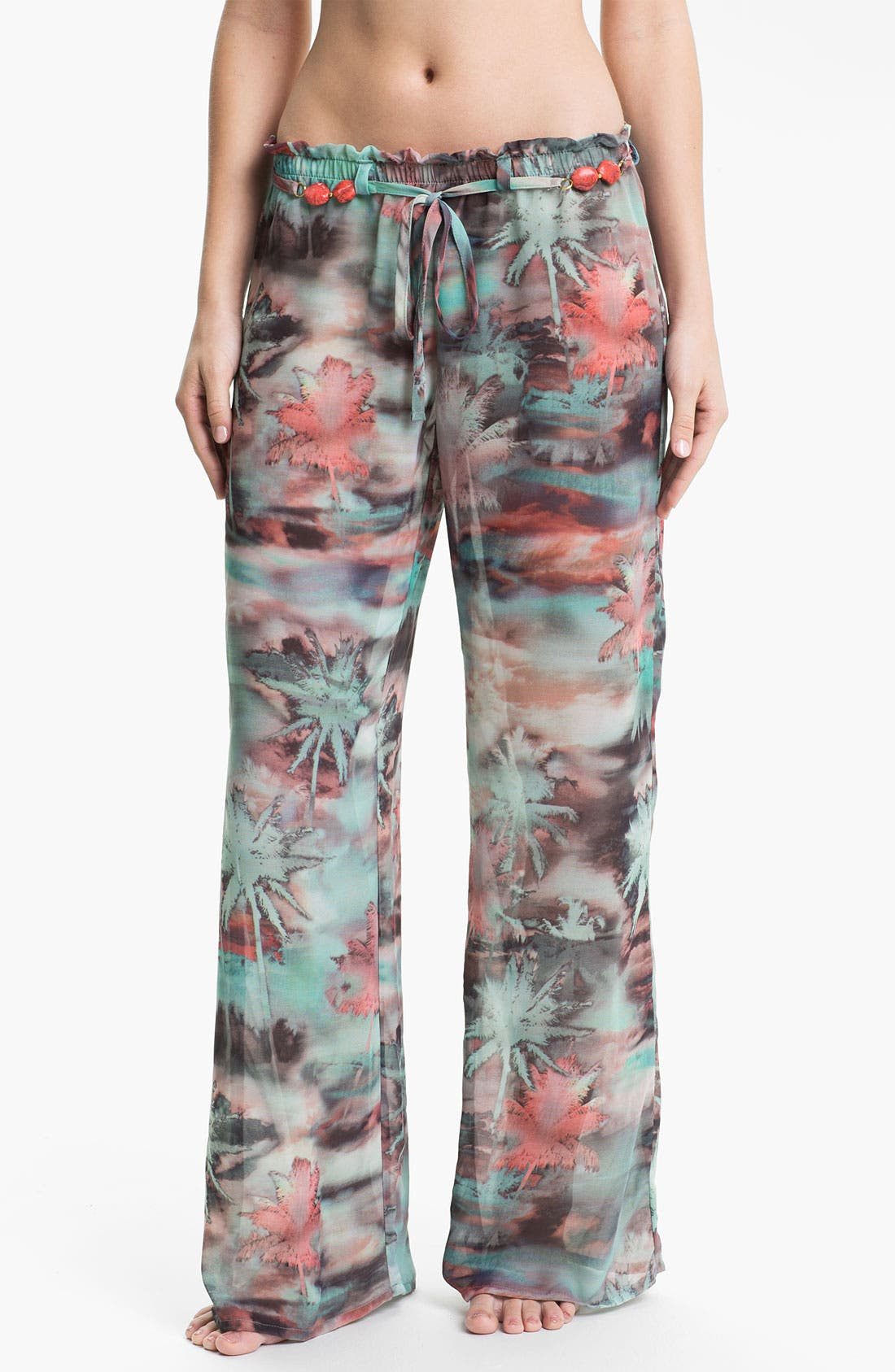 Alternate Image 1 Selected - Luxe by Lisa Vogel 'Resortist' Cover-Up Pants