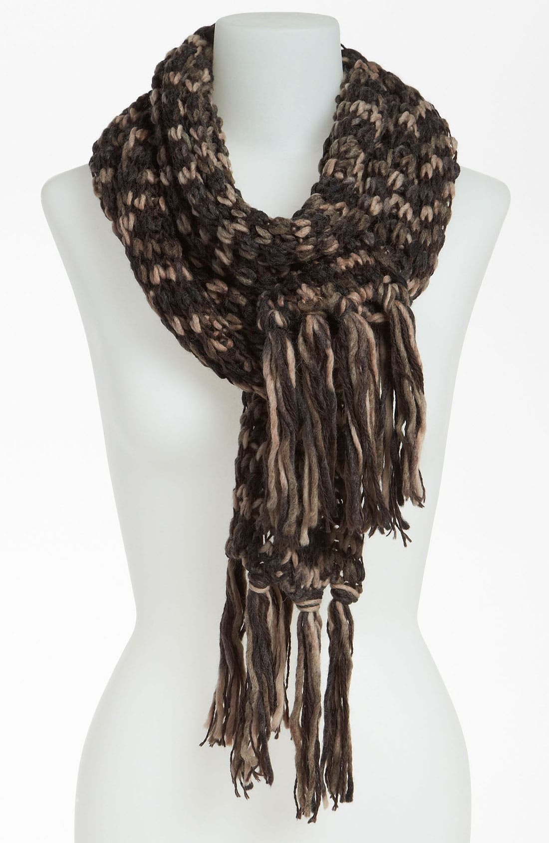 Alternate Image 1 Selected - BP. Chunky Neutral Knit Scarf