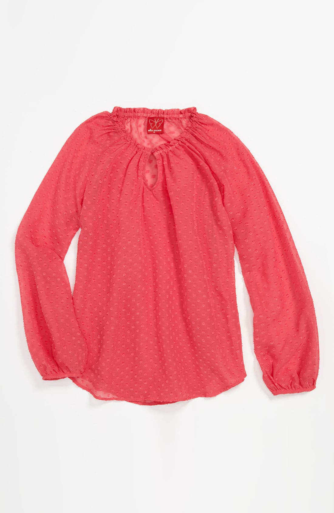 Main Image - Ella Moss 'Parisienne' Top (Big Girls)