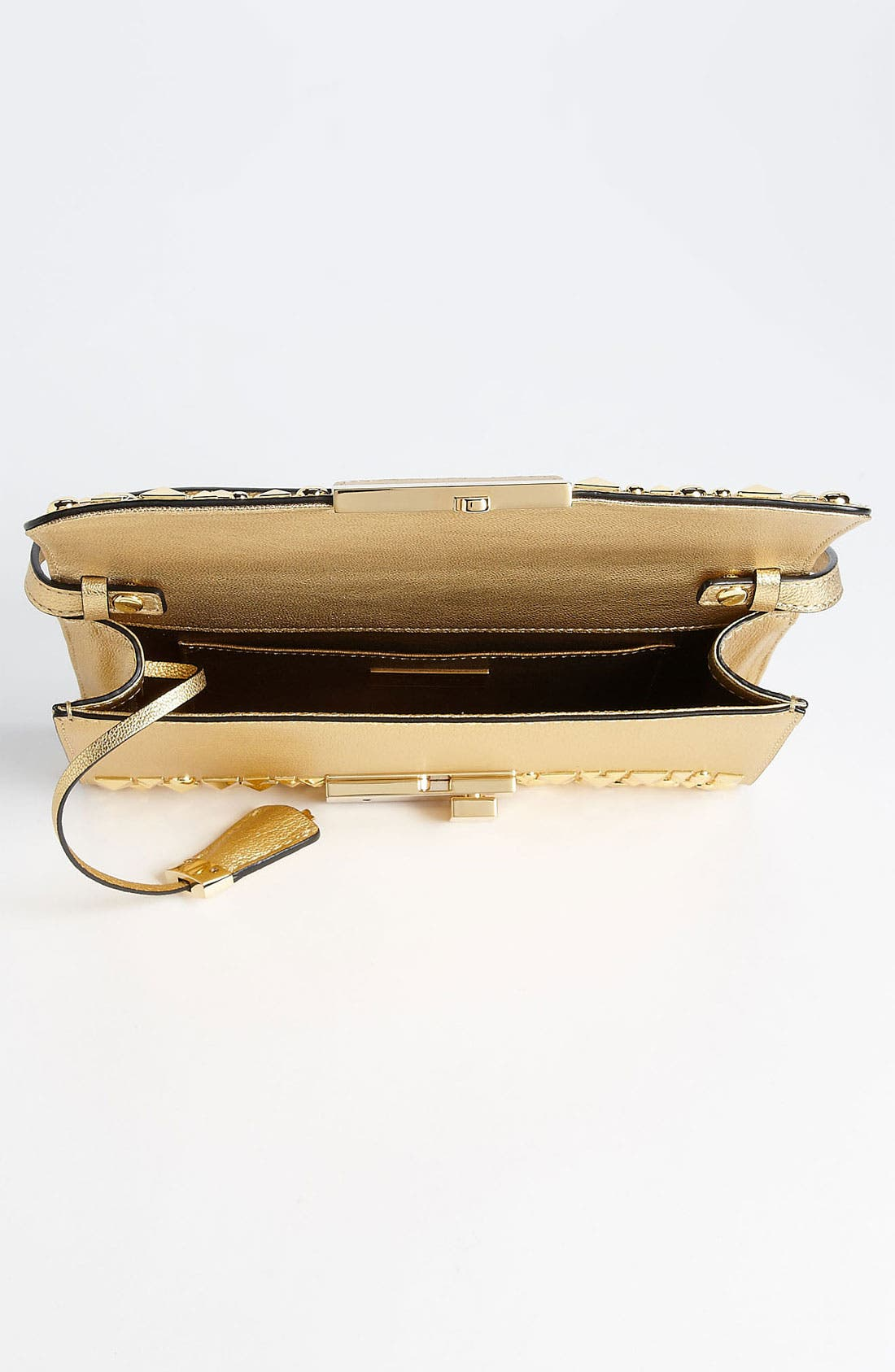 Alternate Image 3  - Michael Kors 'Gia' Studded Leather Clutch