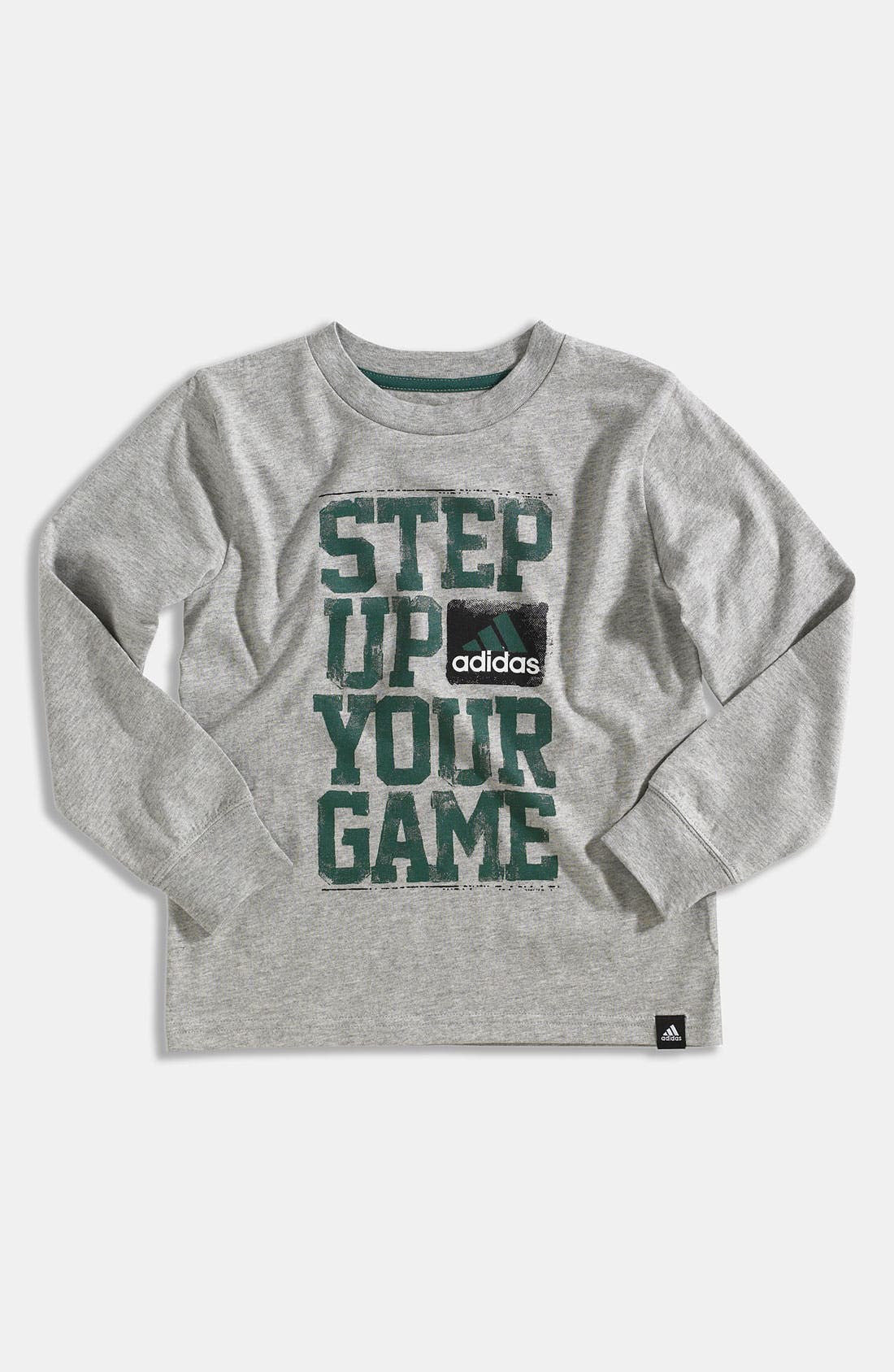 Main Image - adidas 'Swagger' T-Shirt (Little Boys)