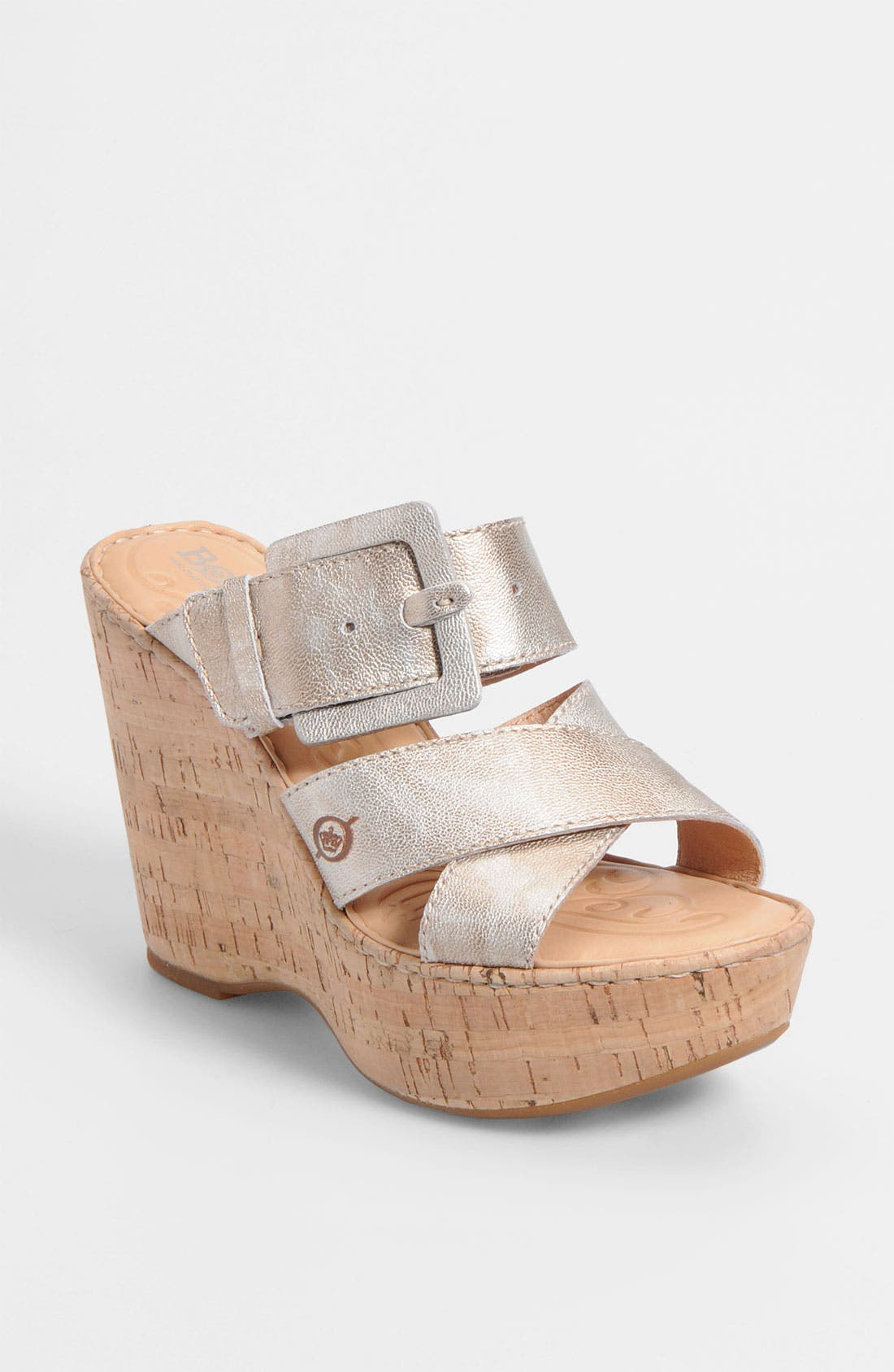 Alternate Image 1 Selected - Børn 'Beau' Wedge Sandal (Nordstrom Exclusive)