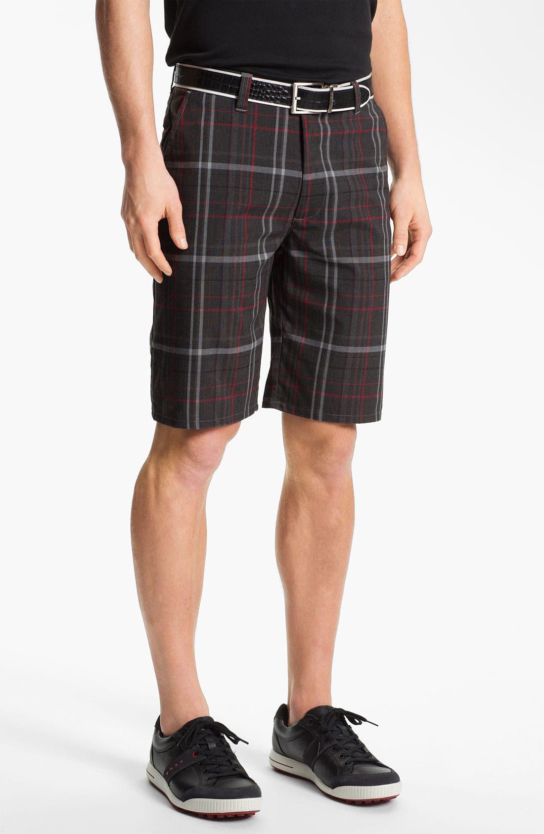 Main Image - Travis Mathew 'Darwin' Flat Front Golf Shorts