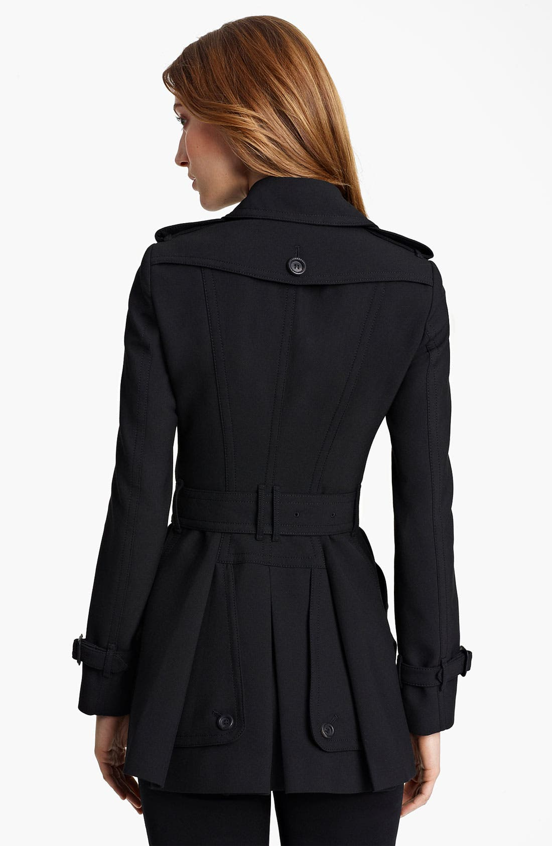 Alternate Image 2  - Burberry London Jersey Trench Coat