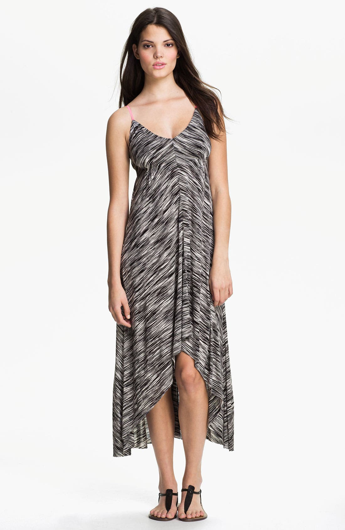 Main Image - Eight Sixty Contrast Strap Maxi Dress (Online Exclusive)