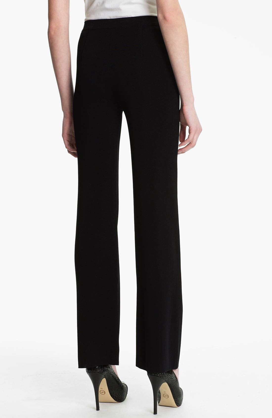 Alternate Image 2  - Misook Bootcut Knit Pants