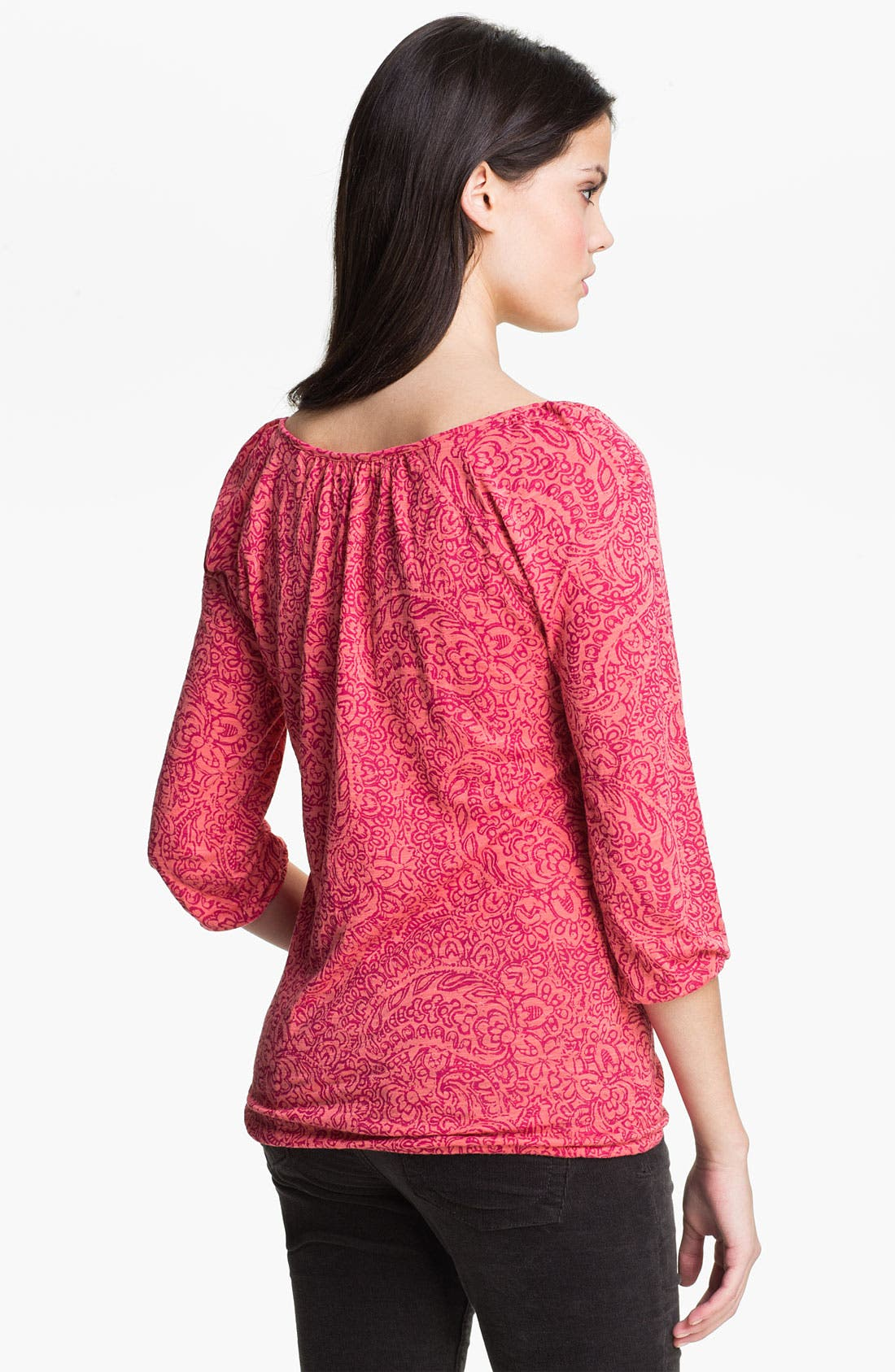 Alternate Image 2  - Lucky Brand 'Tilly' Paisley Top