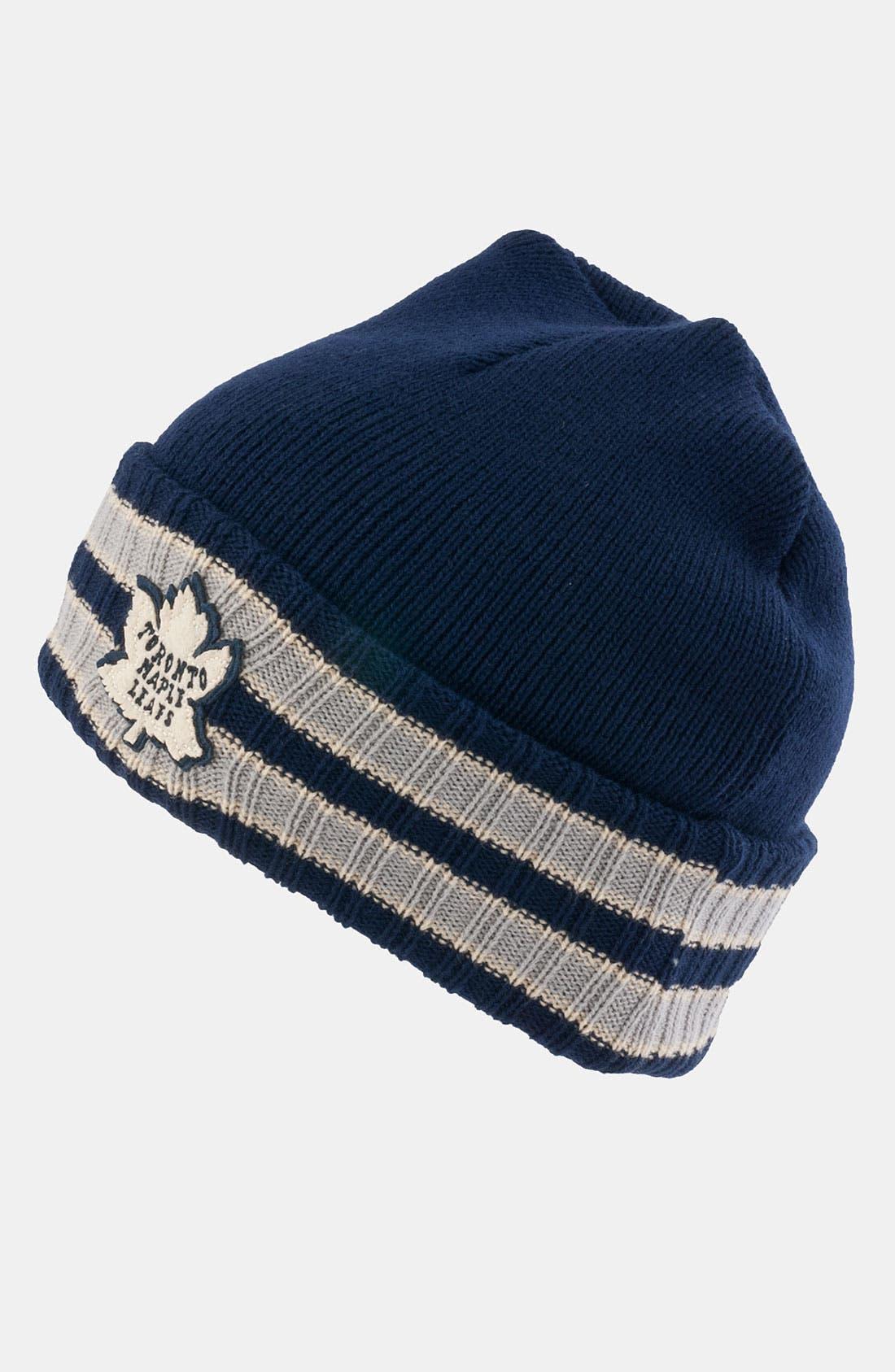 Alternate Image 1 Selected - American Needle 'Toronto Maple Leafs - Slash' Knit Hat
