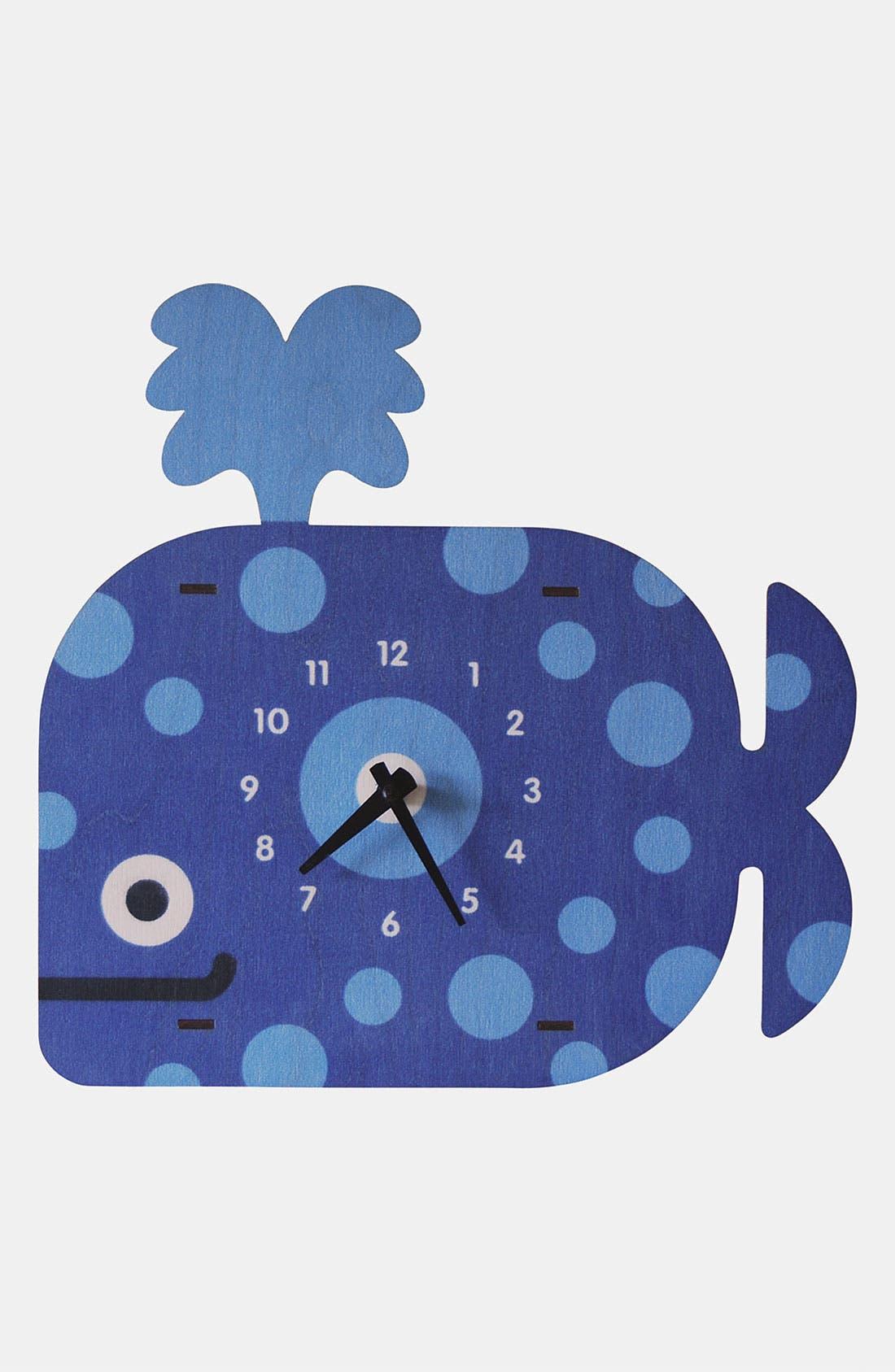 Main Image - Modern Moose 'Whale' Clock