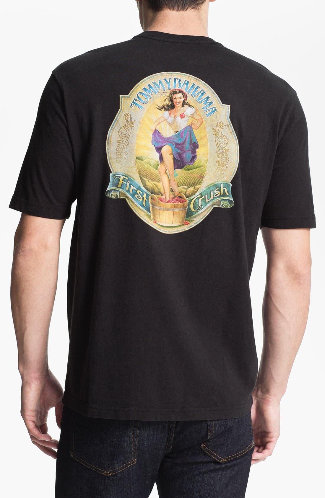 'First Crush' T-Shirt,                         Main,                         color, Black