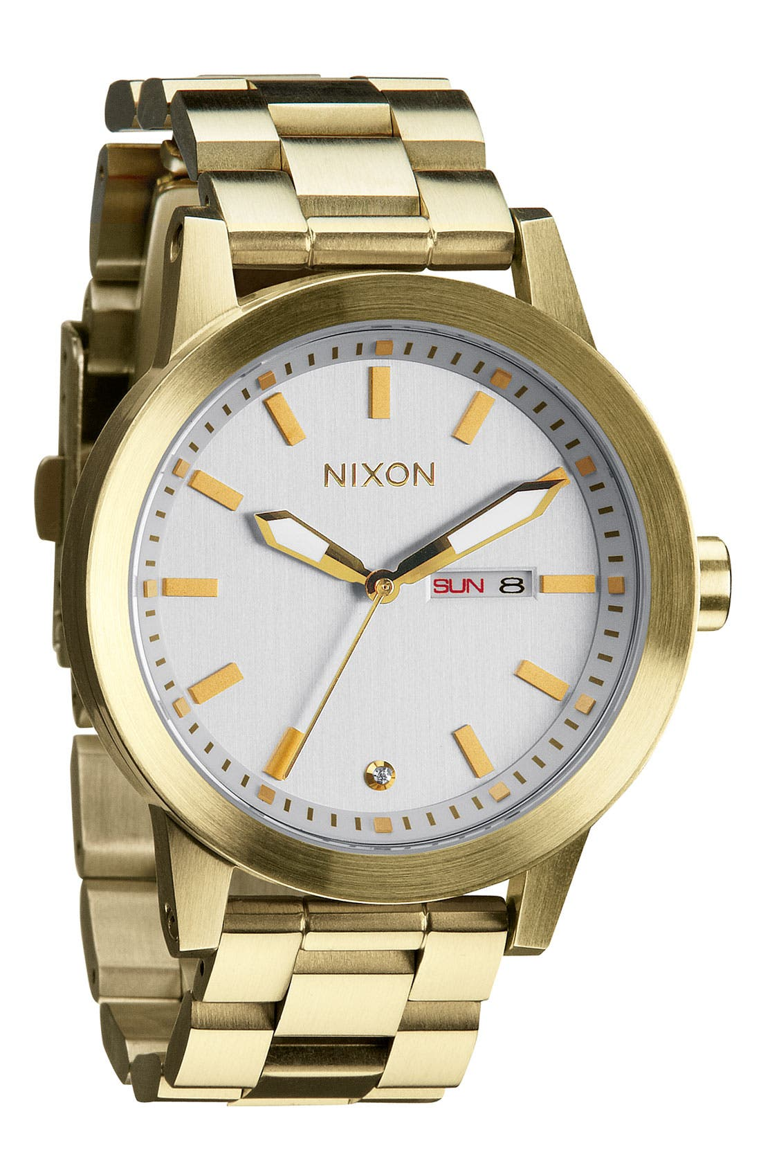 Alternate Image 1 Selected - Nixon 'The Spur' Bracelet Watch, 42mm