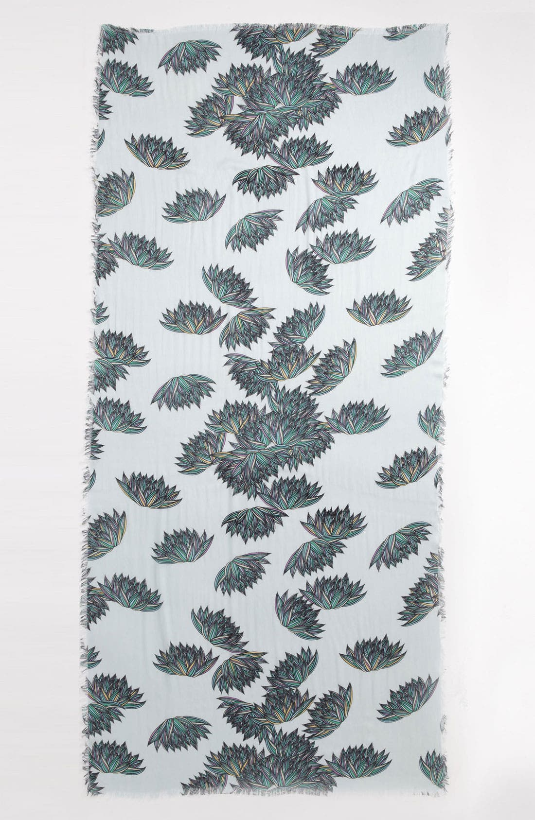 Alternate Image 2  - Hinge® 'Fern Fields' Scarf