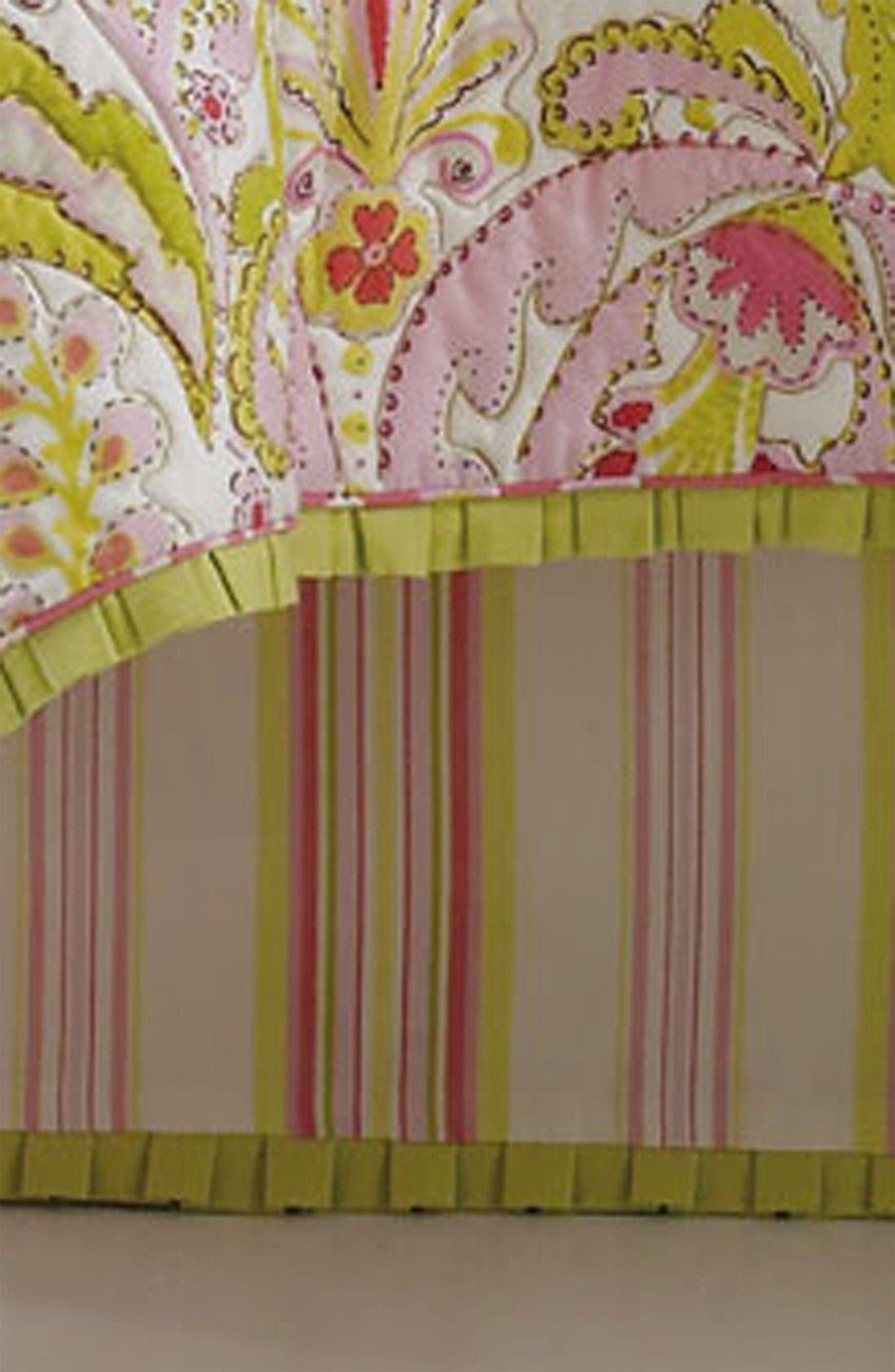 Alternate Image 1 Selected - Dena Home 'Moroccan Garden' Bed Skirt