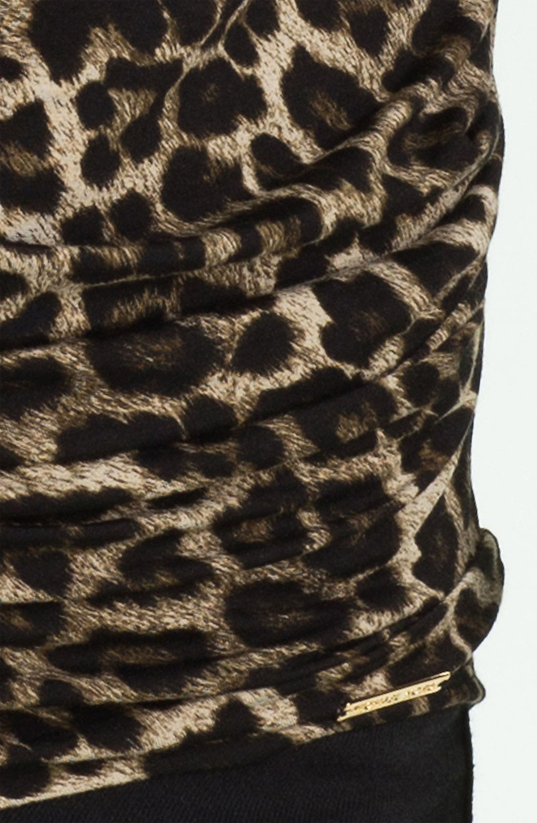 Alternate Image 3  - MICHAEL Michael Kors Drape Neck Knit Top
