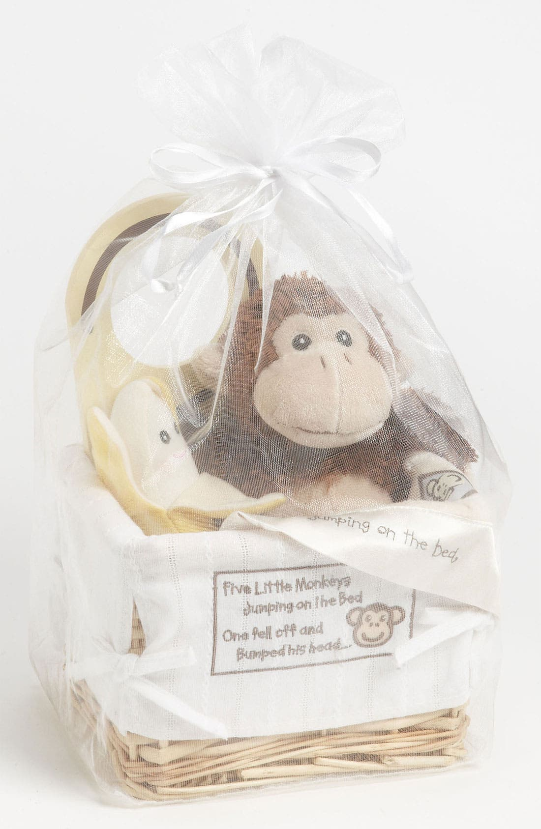 Alternate Image 2  - Baby Aspen 'Five Little Monkeys' Five-Piece Gift Set