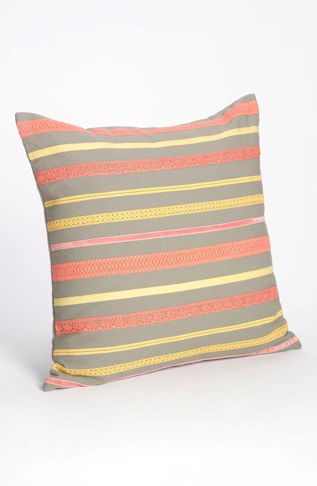 Alternate Image 1 Selected - Nordstrom at Home 'Trim Stripes' Pillow Cover