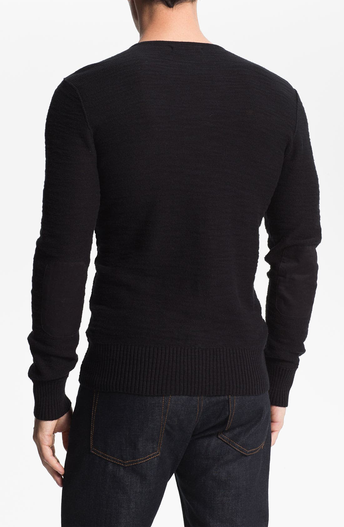 Alternate Image 2  - John Varvatos Star USA V-Neck Sweater