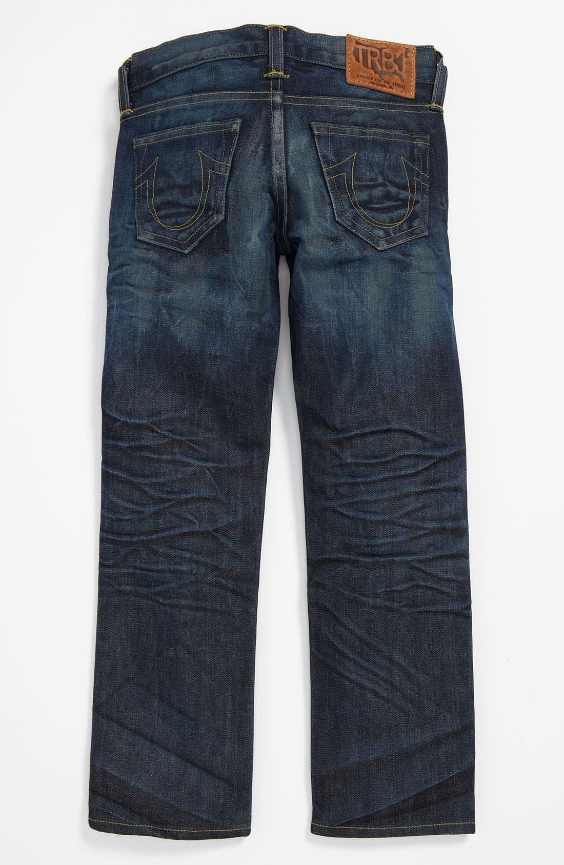 Alternate Image 1 Selected - True Religion Brand Jeans 'Herbie Phoenix' Jeans (Big Boys)