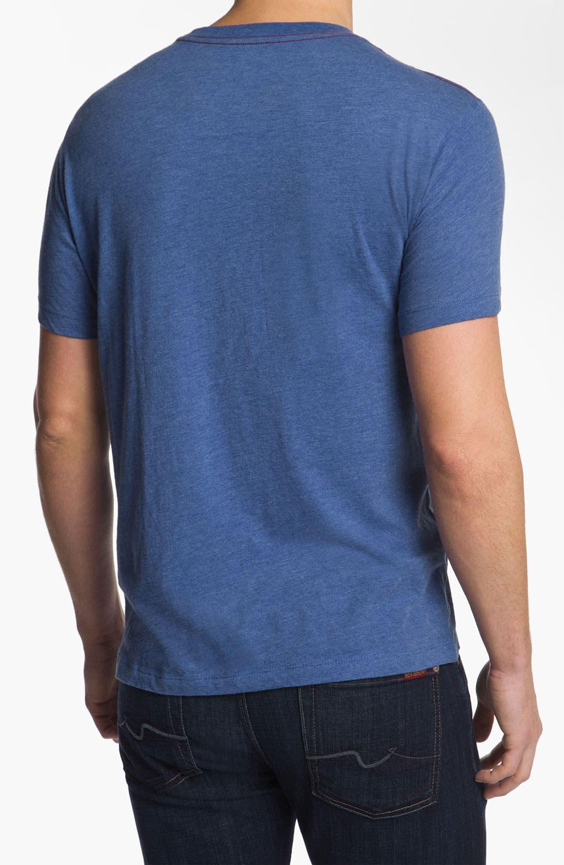 Alternate Image 2  - RVCA 'Cut Copy' T-Shirt