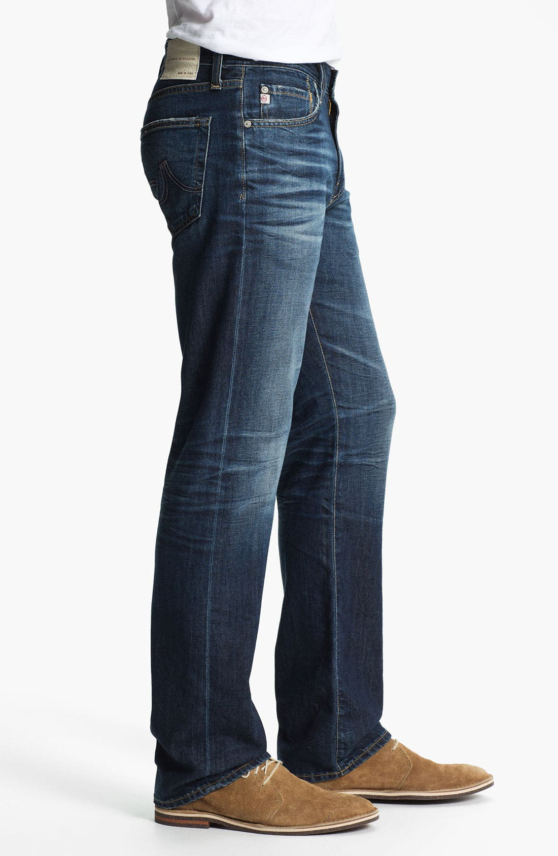 Alternate Image 3  - AG Jeans 'Protégé' Straight Leg Jeans (8-Year Lounge)