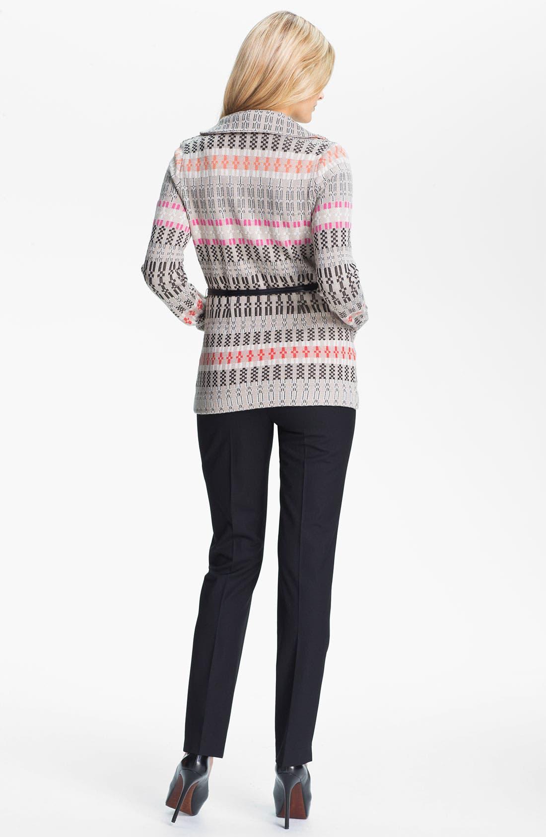 Alternate Image 5  - Nic + Zoe Belted Knit Jacket (Petite)