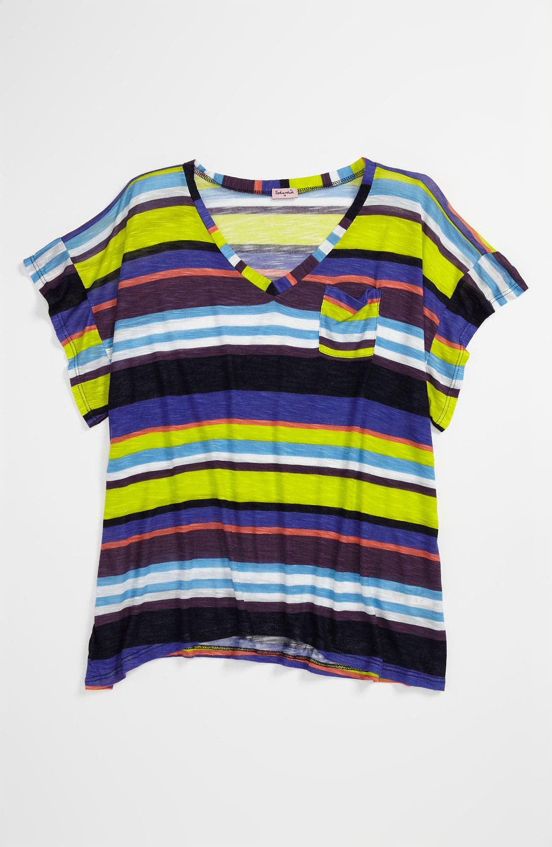 Main Image - Splendid 'Pensacola' Stripe Top (Big Girls)