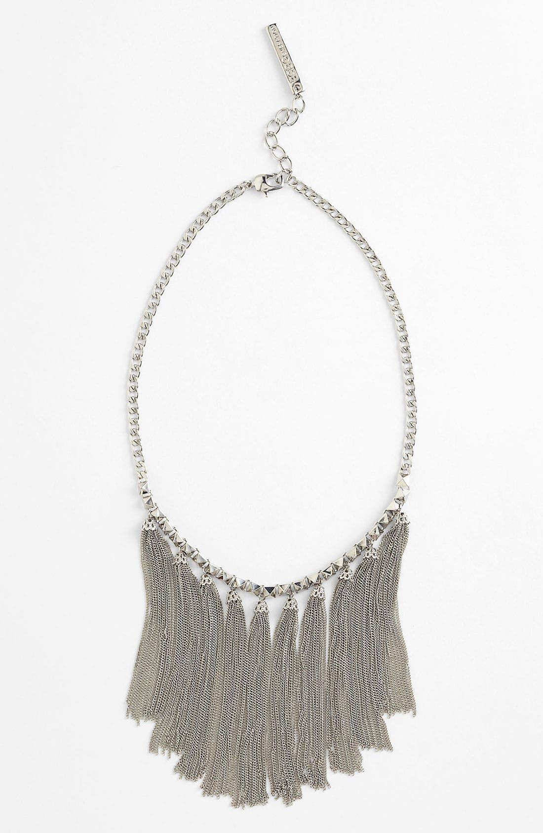 Alternate Image 1 Selected - BCBGeneration 'The Standard' Tassel Necklace