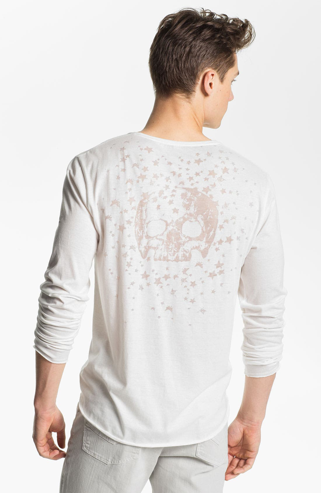 Alternate Image 2  - Zadig & Voltaire Crewneck Long Sleeve Shirt