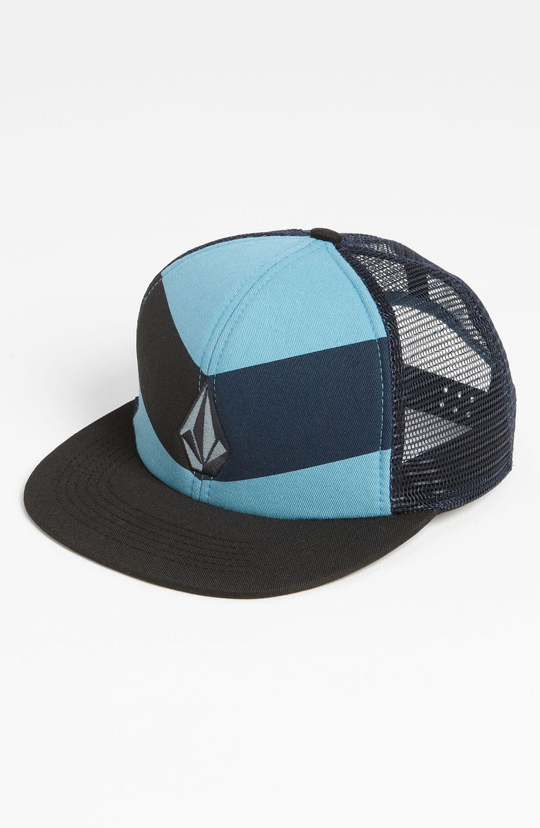 Alternate Image 1 Selected - Volcom 'Fullstone' Trucker Hat (Big Boys)
