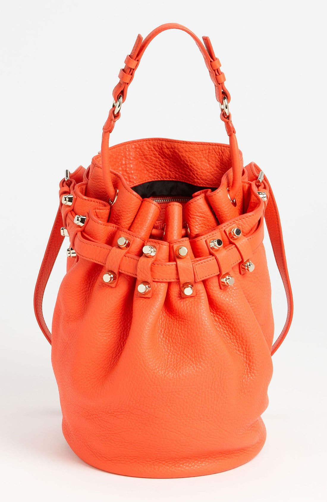 Alternate Image 1 Selected - Alexander Wang 'Diego - Pale Gold' Leather Bucket Bag