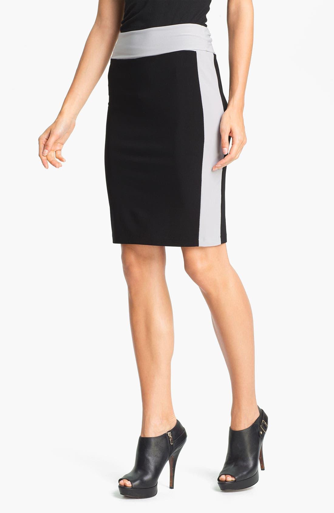 Alternate Image 1 Selected - KAMALIKULTURE Side Stripe Skirt